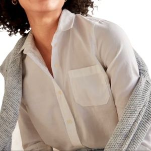 Old Navy Classic Small Button-Front Shirt White